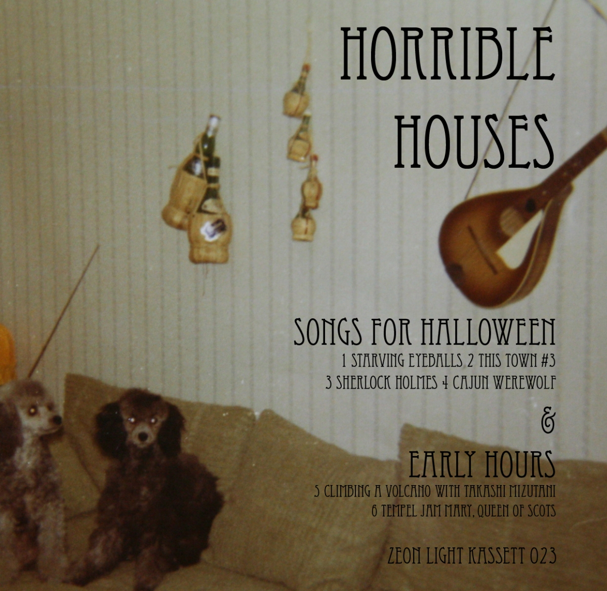 horrible houses - songs for halloween & early hours zlk023
